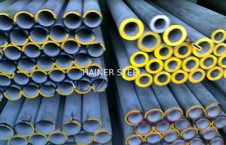 الصين ASTM A312 Heavy Wall Stainless Steel Pipe , Round Cold drawn Steel Tube المزود